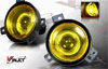 Ford Ranger  2001-2003 Yellow Halo Projector Fog Lights