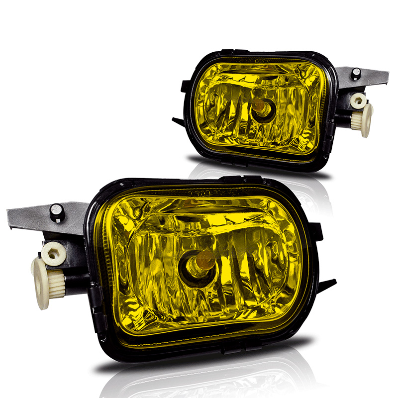 Mercedes Benz C-Class W203 2001-2007 Yellow OEM Fog Lights