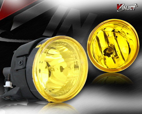 Nissan Titan  2004-2005 Yellow OEM Fog Lights