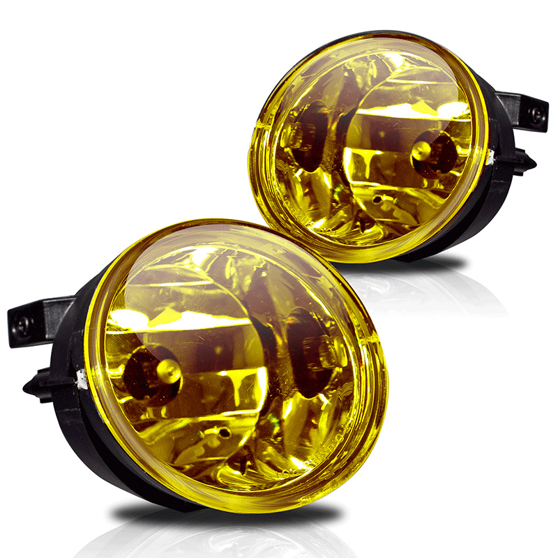 Nissan Armada  2005-2008 Yellow OEM Fog Lights