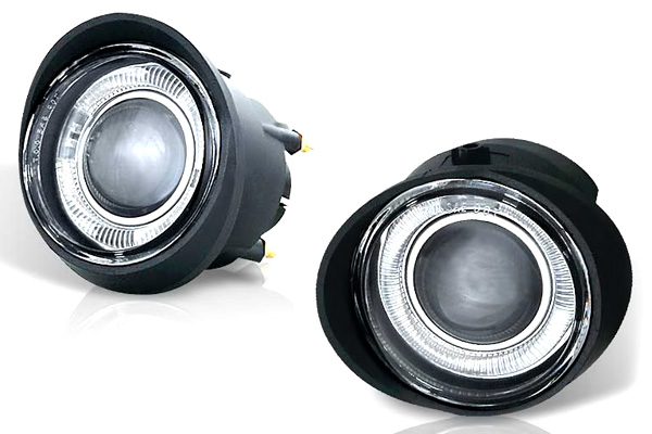 Infiniti Fx35  2003-2005 Clear Halo Projector Fog Lights