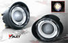 Nissan Altima  2002-2004 Clear Halo Projector Fog Lights