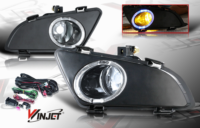 Mazda Mazda 6 4dr W/I & S Trim 2003-2005 Clear OEM Fog Lights (does Not Fit Hatch,Sport, Or Mazda Speed 6)(wiring Kit Included)