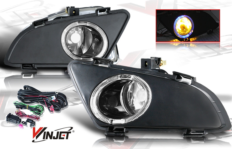 Mazda Mazda 6 4dr W/I & S Trim 2003-2005 Smoke OEM Fog Lights (does Not Fit Hatch,Sport, Or Mazda Speed 6)(wiring Kit Included)
