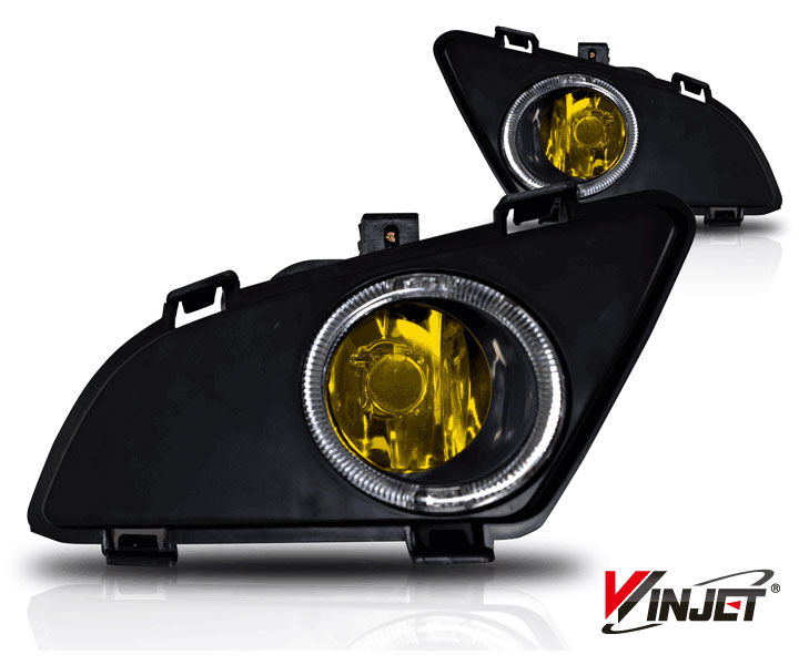 Mazda Mazda 6 4dr W/I & S Trim 2003-2005 Yellow OEM Fog Lights (does Not Fit Hatch,Sport, Or Mazda Speed 6)(wiring Kit Included)