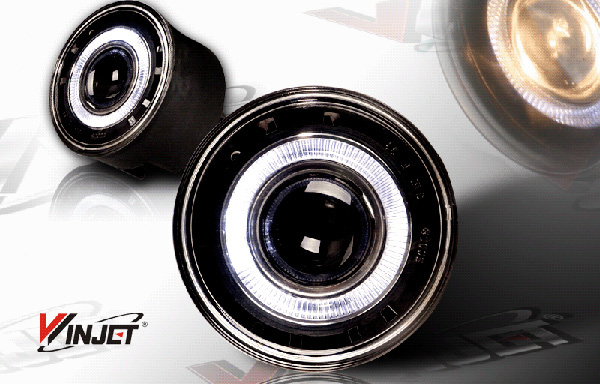Jeep Grand Cherokee  2005-2010 Smoke Halo Projector Fog Lights