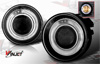 2004 Dodge Dakota - 2004 Halo Smoked Projector Fog Lights