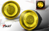 2002 Dodge Dakota   Yellow Halo Projector Fog Lights
