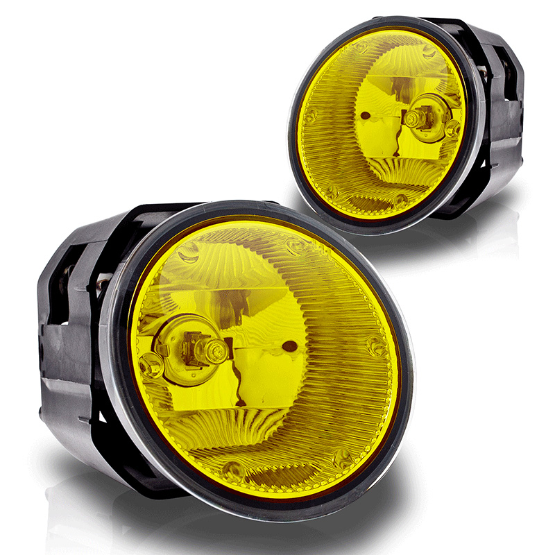 Nissan Frontier  2001-2004 Yellow OEM Fog Lights (wiring Kit Included)
