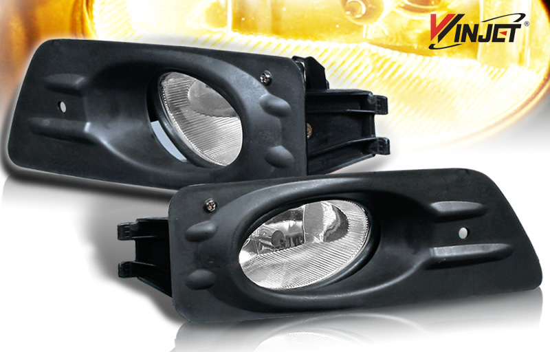 Honda Accord 2dr 2006-2007 Smoke OEM Fog Lights (wiring Kit Included)
