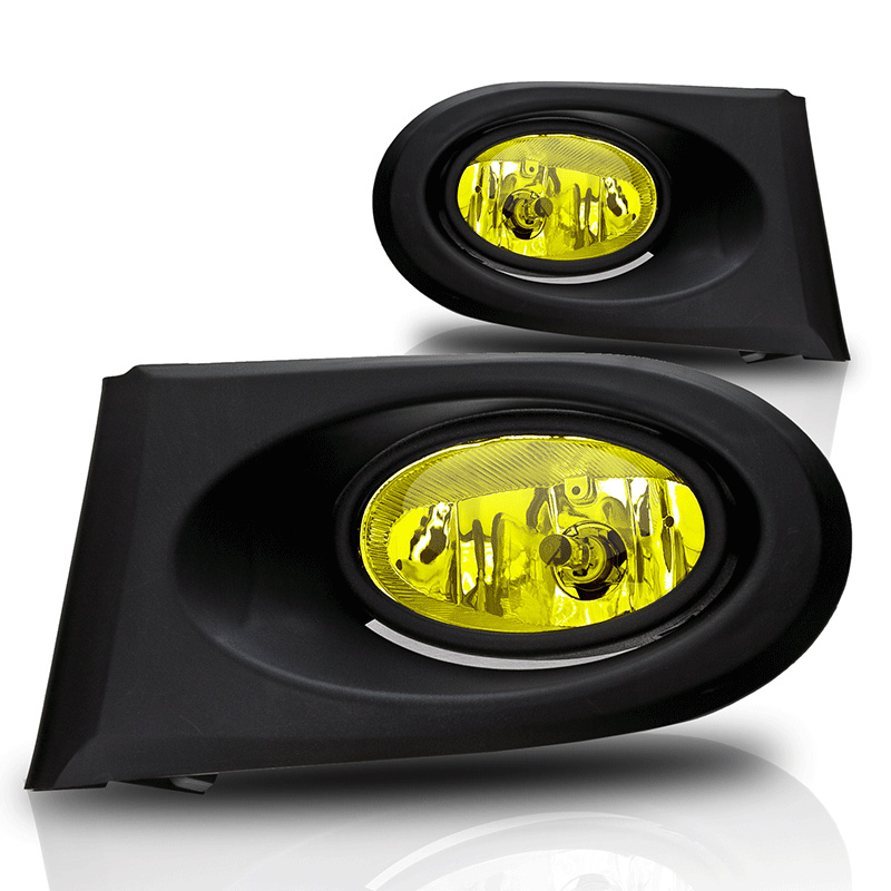 Acura RSX  2002-2004 Yellow OEM Fog Lights (wiring Kit Included)