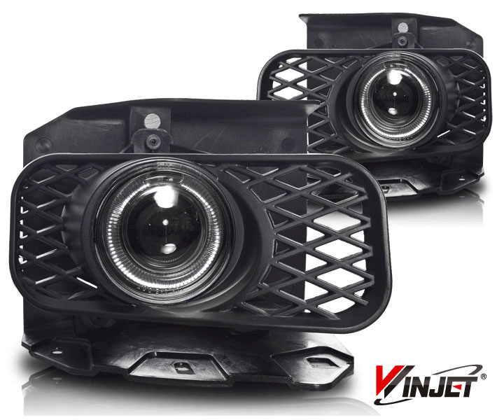 Ford Expedition Xl/Xlt/Lariat 1999-2002 Clear Halo Projector Fog Lights (excl Stx)