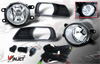 Toyota Camry  2007-2009 Clear OEM Fog Lights (wiring Kit Included)