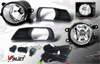 Toyota Camry  2007-2009 Smoke OEM Fog Lights (wiring Kit Included)