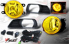 2008 Toyota Camry   Yellow OEM Fog Lights (wiring Kit Included)