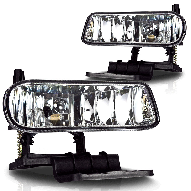 Chevrolet Silverado 3500 2000-2001 Clear OEM Fog Lights