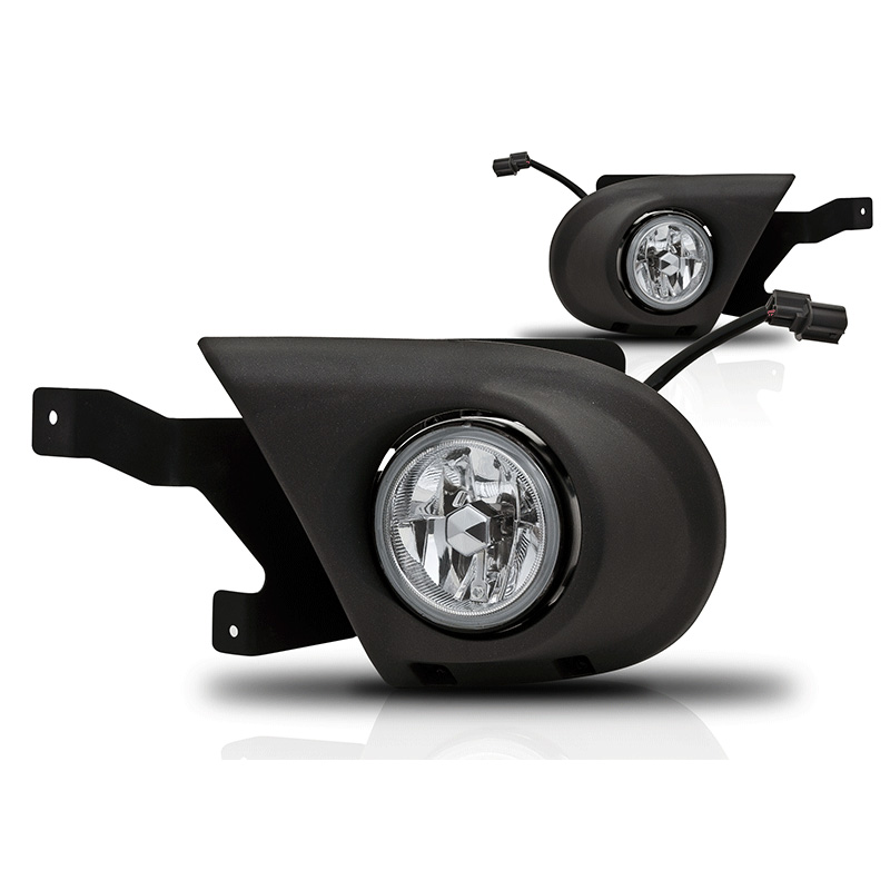 Honda Pilot  2003-2005 Clear OEM Fog Lights (wiring Kit Included)