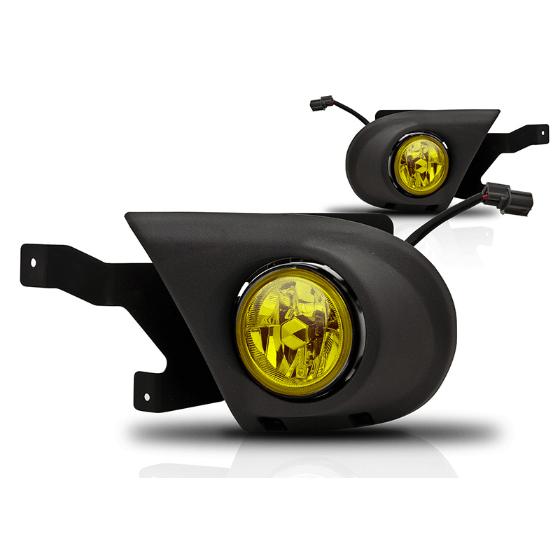 Honda Pilot  2003-2005 Yellow OEM Fog Lights (wiring Kit Included)