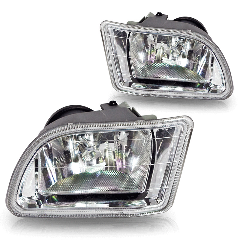Honda Odyssey  2003-2004 Clear OEM Fog Lights (wiring Kit Included)