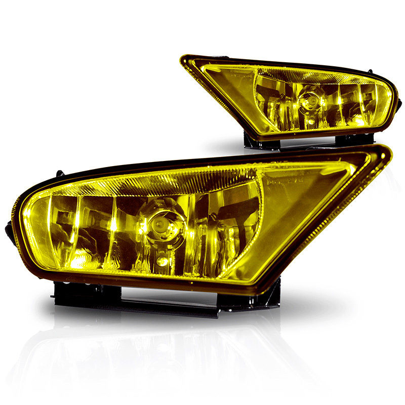 Honda Odyssey  2005-2007 Yellow OEM Fog Lights (wiring Kit Included)
