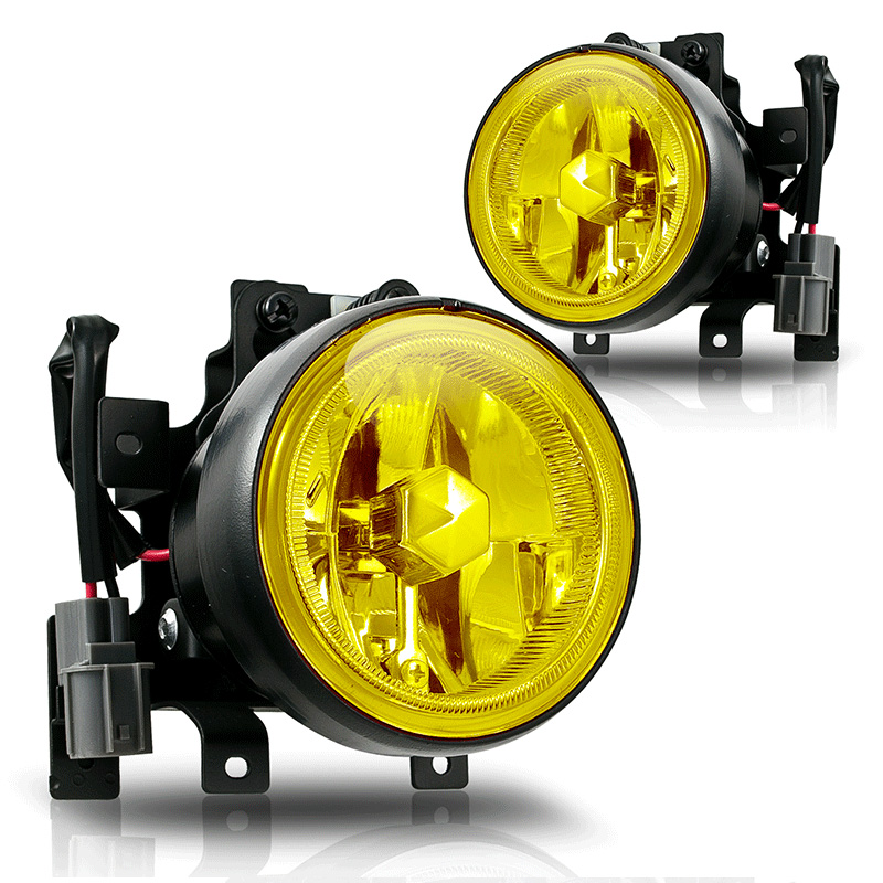 Honda Element  2003-2004 Yellow OEM Fog Lights (wiring Kit Included)