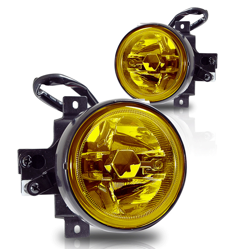 Honda Element  2005-2006 Yellow OEM Fog Lights (wiring Kit Included)