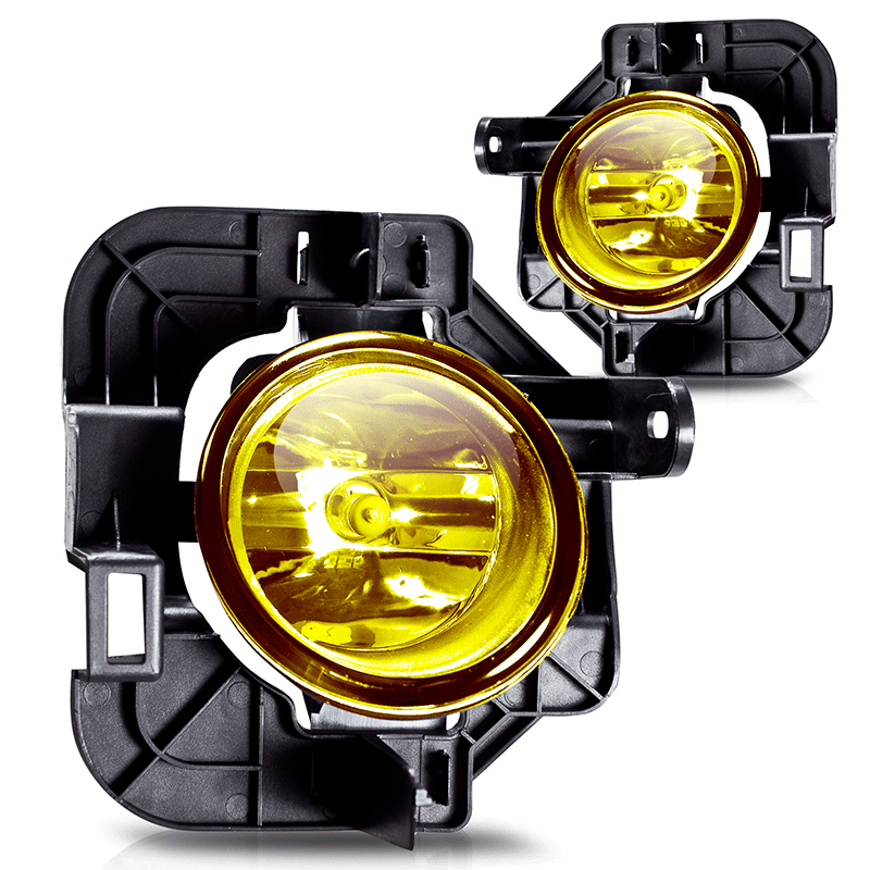 Nissan Altima  2007-2009 Yellow OEM Fog Lights