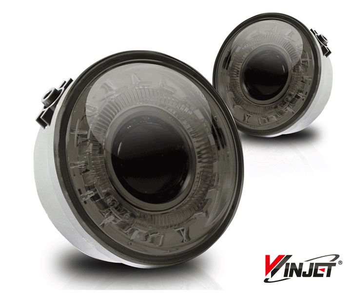 Ford F150  2006-2008 Smoke Halo Projector Fog Lights
