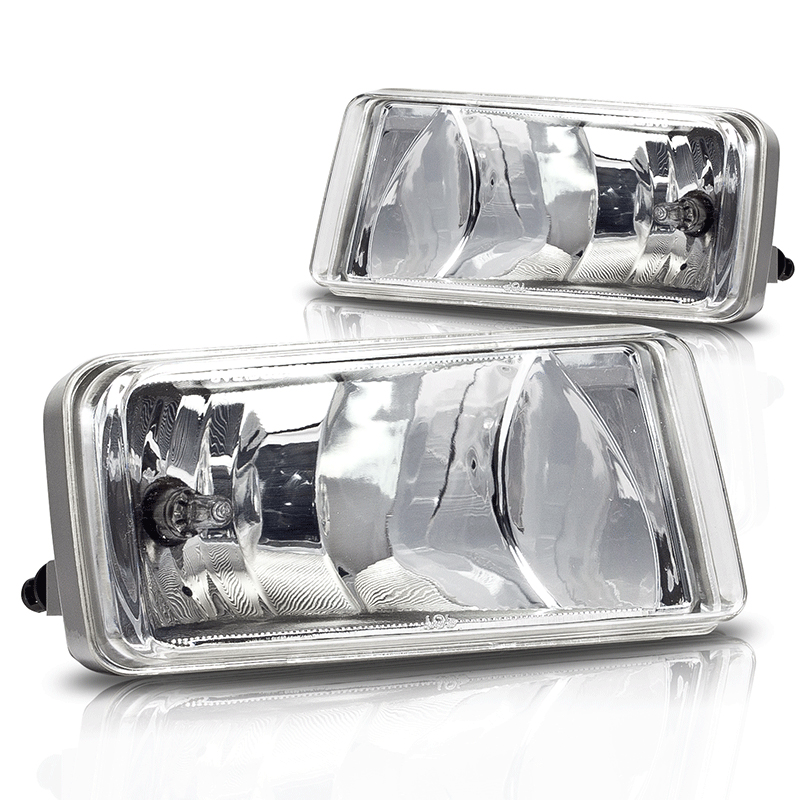 Chevrolet Avalanche  2007-2011 Clear OEM Fog Lights (w / Off Road Package)