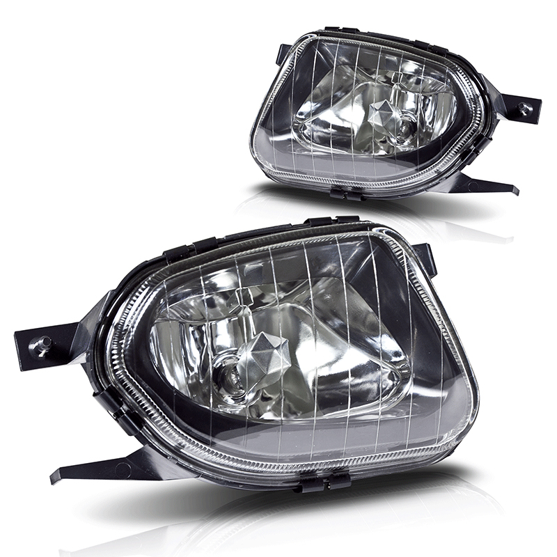 Mercedes Benz E-Class W211 2003-2006 Clear OEM Fog Lights