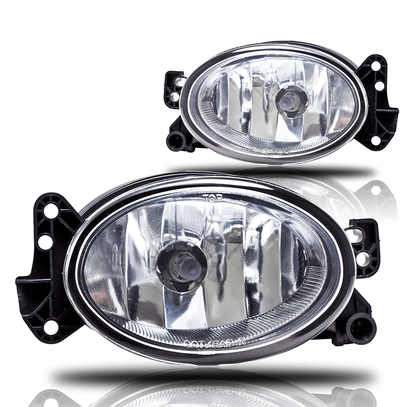 Mercedes Benz E-Class W211 2007-2009 Clear OEM Fog Lights