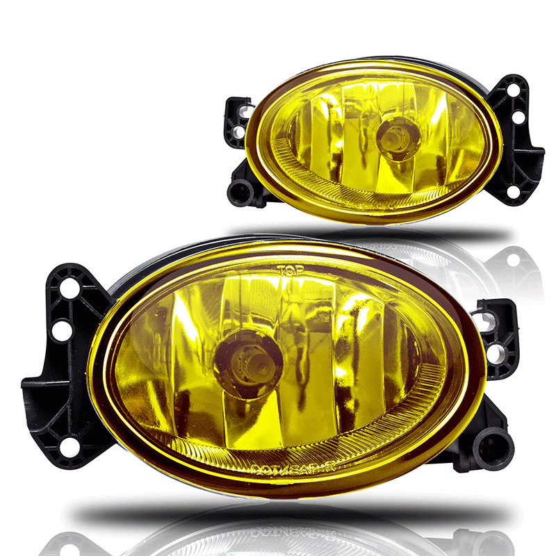 Mercedes Benz E-Class W211 2007-2009 Yellow OEM Fog Lights