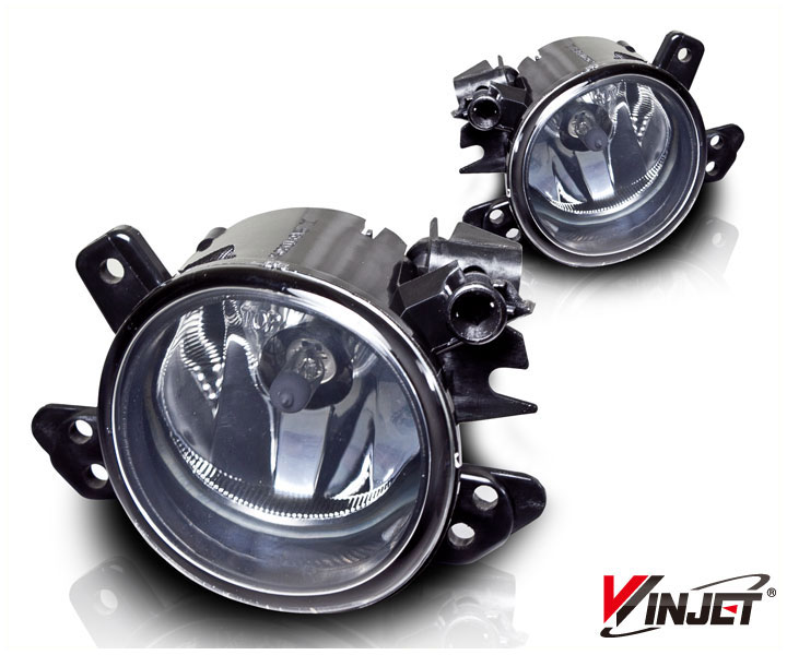 Mercedes Benz ML Class W164 2006-2009 Clear OEM Fog Lights
