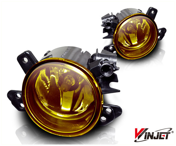 Mercedes Benz ML Class W164 2006-2009 Yellow OEM Fog Lights