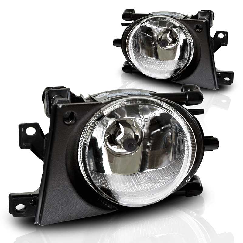 Bmw 5 Series E39 2001-2003 Clear OEM Fog Lights