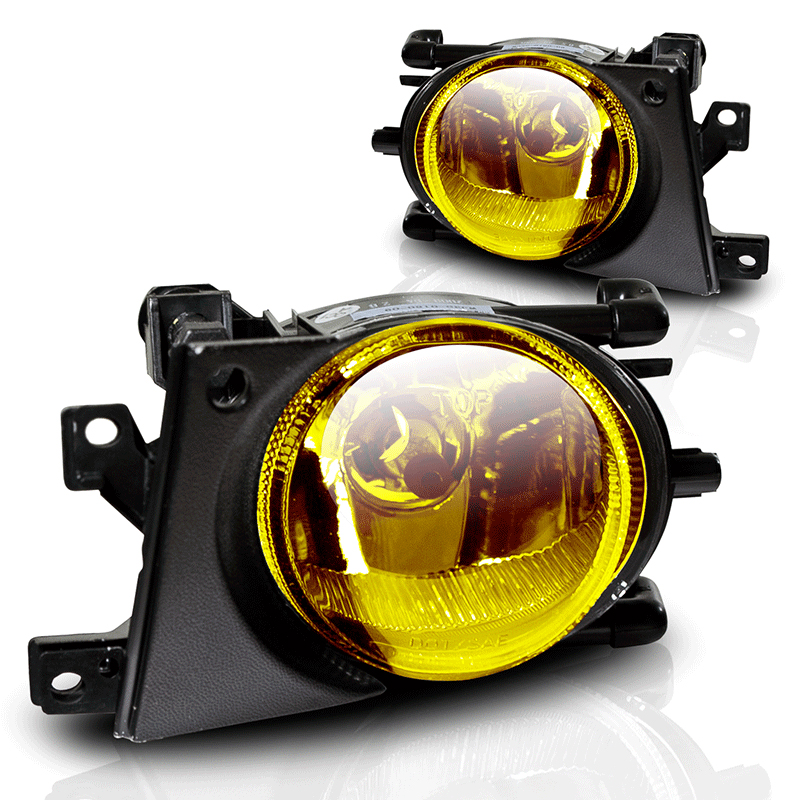 Bmw 5 Series E39 2001-2003 Yellow OEM Fog Lights