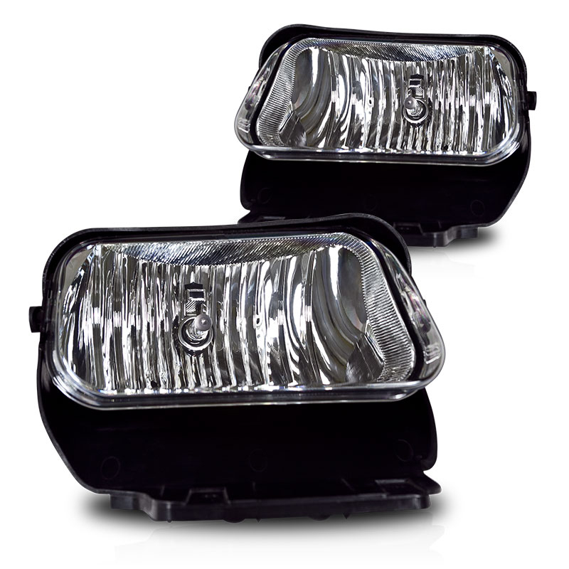 Chevrolet Silverado  2003-2007 Clear OEM Fog Lights