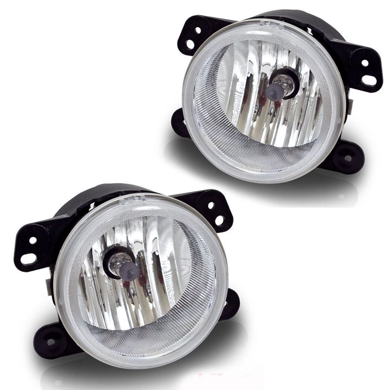 Chrysler 300C  2005-2009 Clear OEM Fog Lights (5.7l W/O Touring W/Washer Holes)