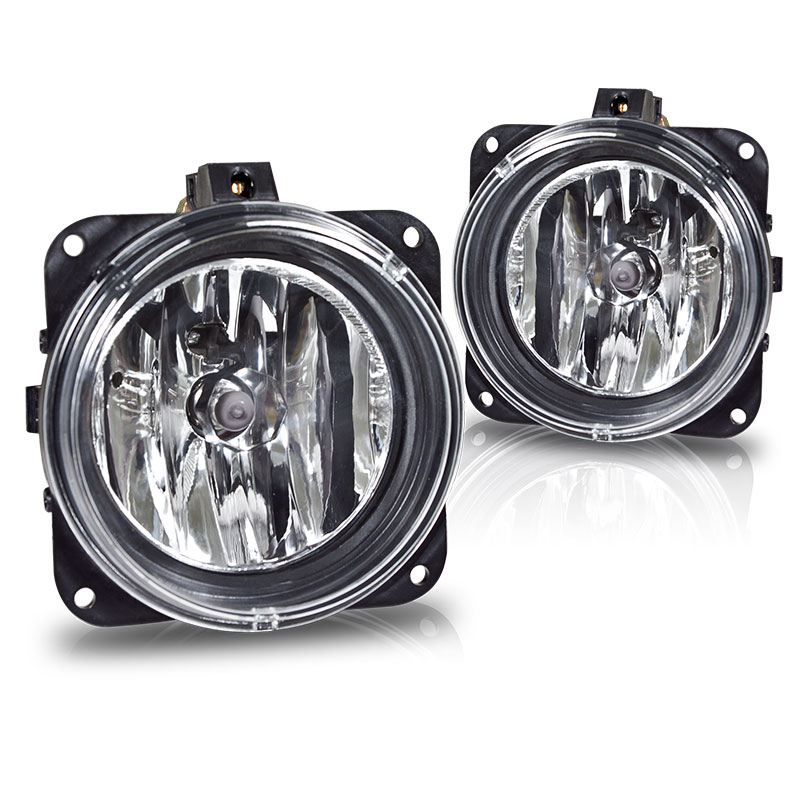 Ford Focus Svt 2000-2005 Clear OEM Fog Lights (svt Model Only)