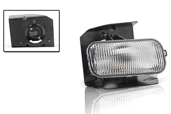 Ford F150 Xl/Xlt/Lariat 1999-2004 Clear OEM Fog Lights (drivers Side)  (excl Stx)