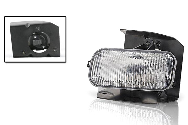 Ford F150 Xl/Xlt/Lariat 1999-2004 Clear OEM Fog Lights (passenger Side) (excl Stx)