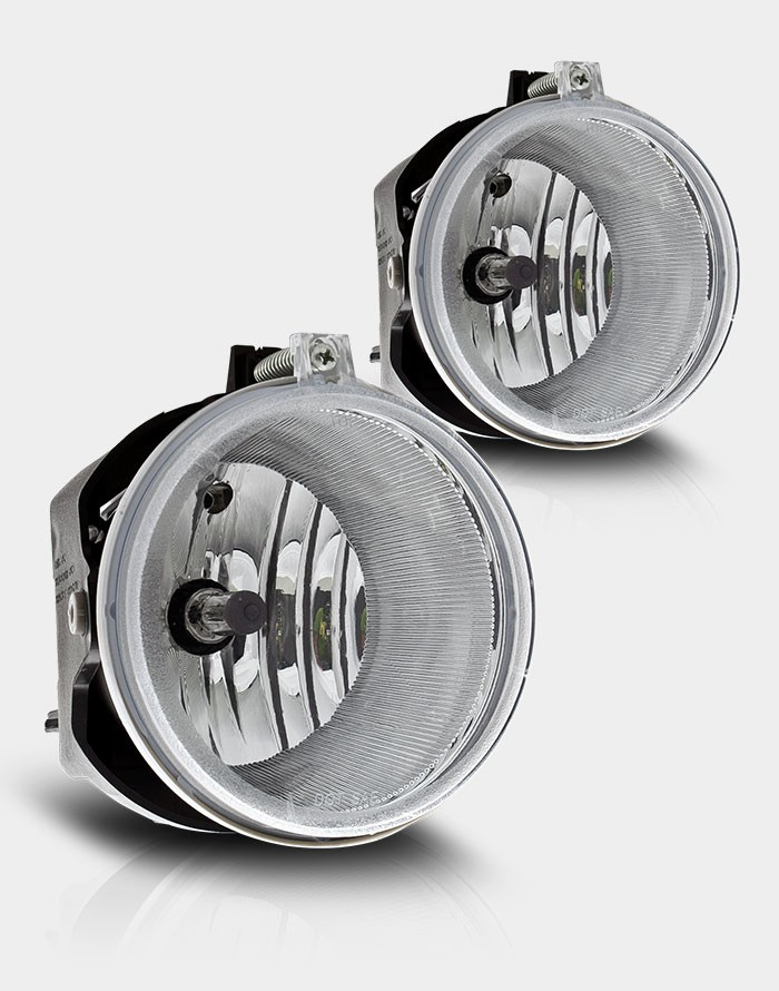 Chrysler 300C  2005-2009 Clear OEM Fog Lights (drivers Side/Passenger Side) (5.7l W/O Touring W/Washer Holes)