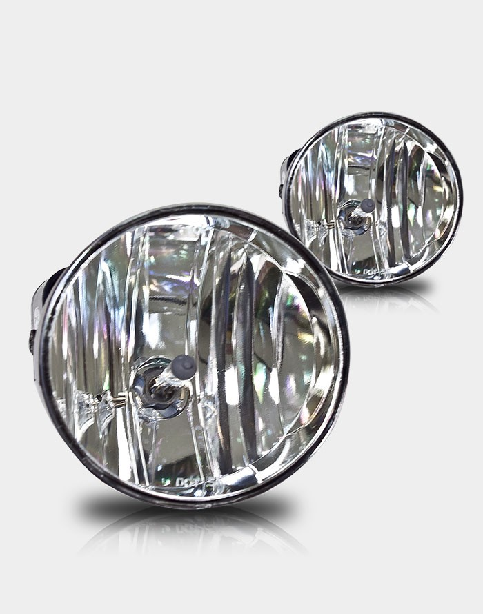 Gmc Envoy  2002-2008 Clear OEM Fog Lights (drivers Side/Passenger Side)