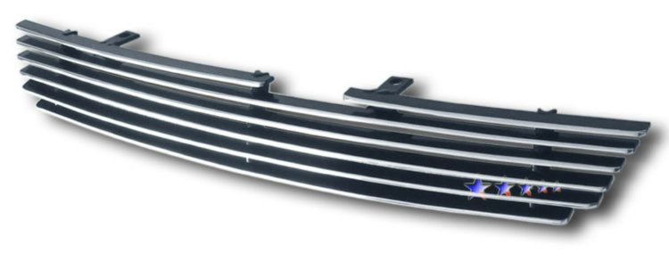 Hyundai Tiburon  2005-2006 Polished Main Upper Aluminum Billet Grille