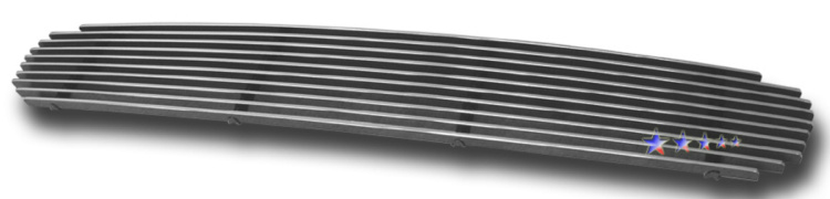 Hyundai Santa Fe  2001-2004 Polished Main Upper Aluminum Billet Grille