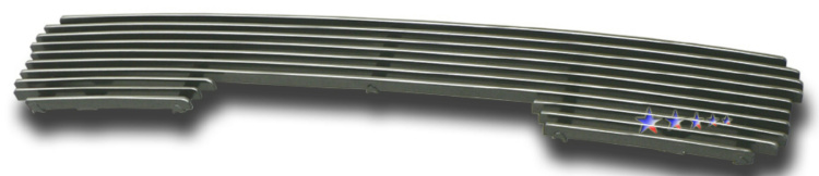 Hyundai Santa Fe  2001-2004 Polished Lower Bumper Aluminum Billet Grille