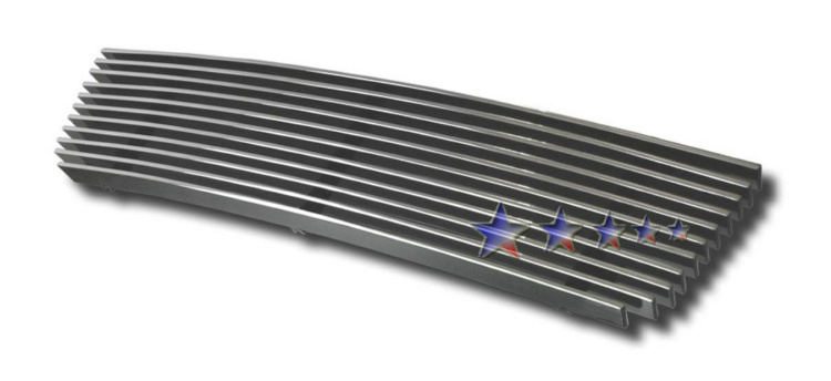 Hyundai Sonata  2002-2005 Polished Lower Bumper Aluminum Billet Grille