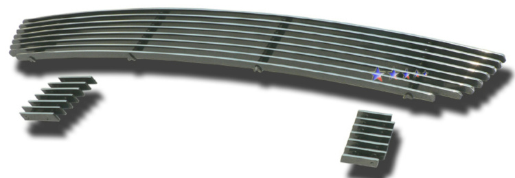 Hyundai Sonata  2006-2008 Polished Lower Bumper Aluminum Billet Grille