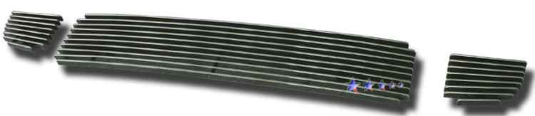 Hyundai Tucson  2005-2009 Polished Lower Bumper Aluminum Billet Grille