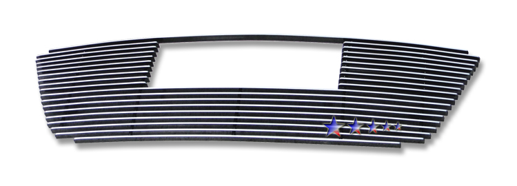 Hyundai Elantra Touring 2009-2012 Polished Lower Bumper Aluminum Billet Grille